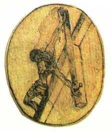 John of the Cross: crucifixion sketch