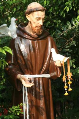 St Francis at Santa Cruz Church in Thonburi, Thailand