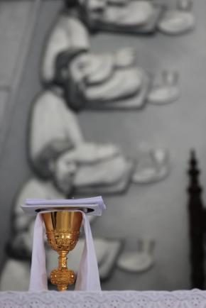 At the Shrine of Mary (Annai Velangkanni) in Medan, Sumatra, Indonesia
