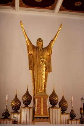 At Holy Redeemer Church in Bangkok, Thailand