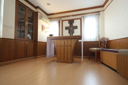At Our Lady of Lourdes Church in Bangsaen, Chonburi, Thailand