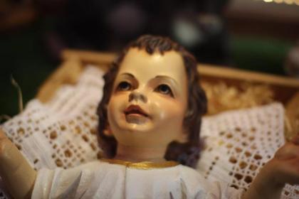 Baby Jesus at Saint John Church in Bangkok, Thailand
