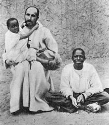 Charles de Foucauld and freed slaves