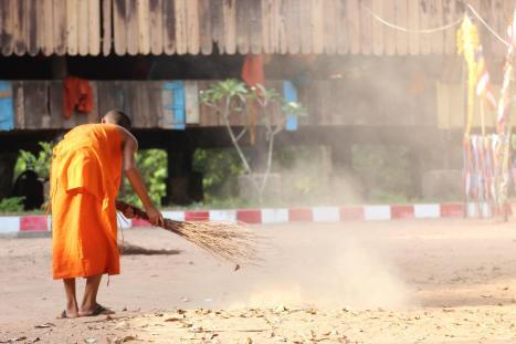 At Lolei in Roluos, Cambodia