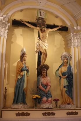 At St Augustine Church in Macau