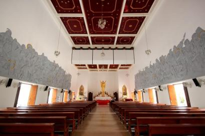 At Holy Redeemer Church in Bangkok, Thailand