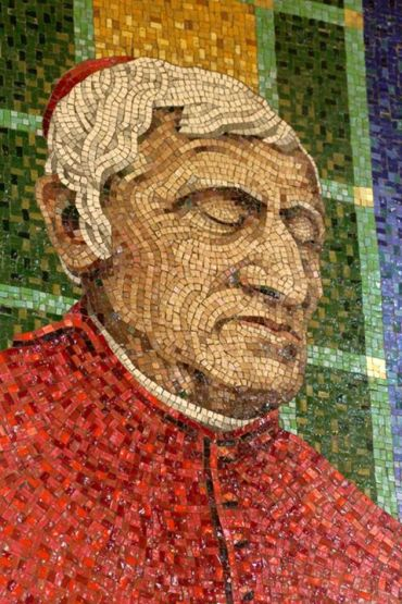 John Henry Newman: Mosaic at Westminister Cathedral