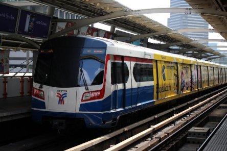 Sky-train in Bangkok, Thailand
